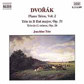 Dvor&aacute;k: Piano Trios Vol 2 / Joachim Trio