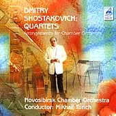 Shostakovich: Quartets Arranged for Chamber Orchestra