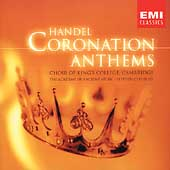 Handel: Coronation Anthems, Ode / Cleobury, Gritton, et al
