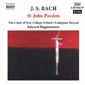 Bach: St. John's Passion / Higginbottom, et al