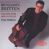 Britten: Suites for Solo Cello / Paul Watkins