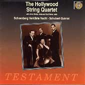 The Hollywood String Quartet - Schoenberg, Schubert