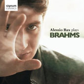 Brahms: 4 Ballads; Variations on a theme by Paganini / Alessio Bax, piano