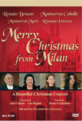 Merry Christmas From Milan / Caballe, Bruson [DVD]