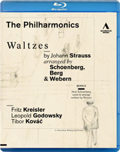 Waltzes by Johann Strauss arranged by Schoenberg, Berg & Webern / The Philharmonics [Blu-Ray]