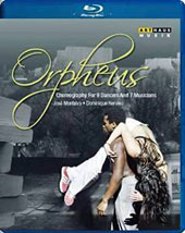 Orpheus - Choreography for 9 dancers and 7 musicians: Music by Tchaikovsky, Talbot, Monteverdi, Gluck, Philip Glass / Théatre National de Chaillot [Blu-ray]