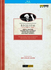 Mozart: Requiem in D minor, K 626 / Edith Mathis, Trudeliese Schmidt, Peter Schreier, Gwynne Howell. Bavarian Radio SO & Chorus, Colin Davis [Blu-ray]