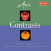 Contrasts - Chamber Works by Dohnányi, et al / Amici