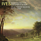 Ives: Symphonies no 1 & 4, etc / Litton, Dallas SO