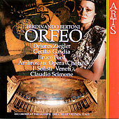 Bertoni: Orfeo / Scimone, Ziegler, Gasdia, Ford