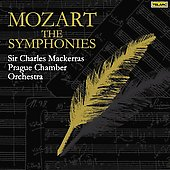 Mozart: The Symphonies / Mackerras, Prague Chamber Orchestra