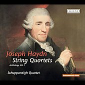 Haydn: Anthology Vol 1 - String Quartets / Schupanzigh String Quartet