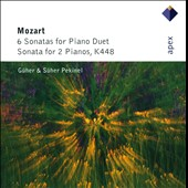 Mozart: 6 Sonatas for Piano Duet