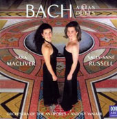 Bach: Arias & Duets / Sara MacLiver, soprano; Sally-Anne Russell, mezzo; Orchestra of the Antipodes; Walker