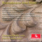 Remembrances from Home / Viola & piano