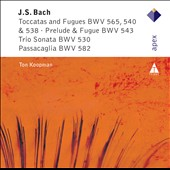 Bach: Toccatas and Fugues / Koopman