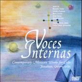Voces Internas / Works for solo cello & with piano