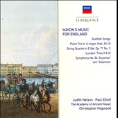 Haydn: Music For England / Hogwood/AAM