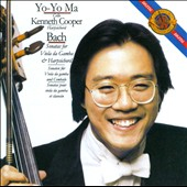 JS Bach: Sonatas for Cello & Harpsichord / Yo-Yo Ma, cello; Kenneth Cooper, harpsichord