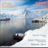 Johan Svendsen: Orchestra Works, Vol. 3 / Marianne Thorsen, violin; Jarvi, Bergen PO