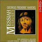 Handel: Messiah - Highlights / Scimone, Schumann, et al