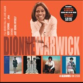 Dionne Warwick: I'll Never Fall in Love Again/Very Dionne...Plus/Dionne/Just Being Myself