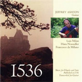 1536 - Milan, Neusidler, Milano / Jeffrey Ashton
