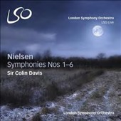 Carl Nielsen: Symphonies Nos. 1-6 / London SO; Sir Colin Davis