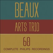 Beaux Arts Trio 60: Complete Philips Recordings, celebrating 60 years / Menahem Pressler, Daniel Guilet, Bernard Greenhouse [60 CDs]