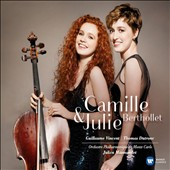 Miniatures & highlights of works by Brahms, Khatchaturian, Karl Jenkins, Gluck, Schubert, Dvorak, Sarasate, Gershwin, Schubert et al. / Camille & Julie Berthollet, violin & cello; Guillaume Vincent, piano