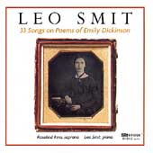 Smit: 33 Songs on Poems of Emily Dickinson / Rees, Smit