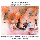 Rodrigo: Elogio de la Guitara / Bergmann, Riessbeck, J&auml;ckle