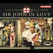 Vaughan Williams: Sir John in Love / Hickox, Varcoe, et al