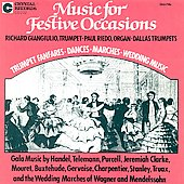 Music for Festive Occasions / Giangiulio, Riedo