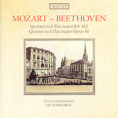 Mozart, Beethoven: Quintets for Piano and Winds