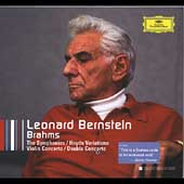 Bernstein Collectors Edition - Brahms: Symphonies, etc
