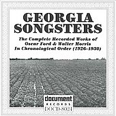 Various Artists: Georgia Songsters