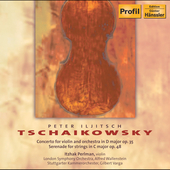 Tchaikovsky: Violin Concerto, Serenade / Perlman, et al