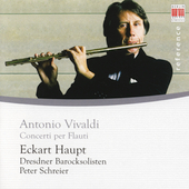 Vivaldi: Flute Concertos / Schreier, Haupt, et al