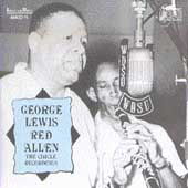 George Lewis (Clarinet): George Lewis with Guest Artist Red Allen