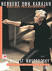 Karajan, Herbert Von / Mussorgsky: Pictures At An Exhibition [DVD]