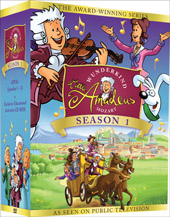 W.A Mozart: Little Amadeus - Season 1 [5 DVD]
