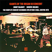 Jimmy McGriff: Giants of the Organ in Concert: The Complete Concert