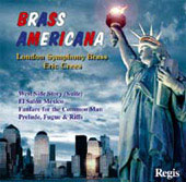 Brass Americana - Bernstein, etc / Crees, LSO Brass