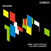 Schnittke: Epilogue, Cello Sonatas, etc / Thedéen, Pöntinen