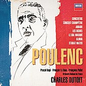 Poulenc: Orchestral and Choral Works / Dutoit