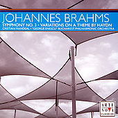 Brahms: Symphony no 3, etc / Mandeal, Bucharest PO