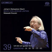 Bach: Complete Cantatas Vol 39 / Suzuki, Sampson, Blaze, Türk, Kooij, et al
