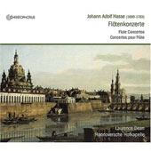 Hasse: Flute Concertos / Dean, Ahrens-Dean, Hannover Hofkapelle