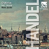 Handel: Oratorios - Messiah, Saul / René Jacobs